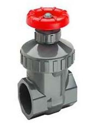 .75IN CPVC GATE VALVE THREADED VITON SPEARS 2031-007C