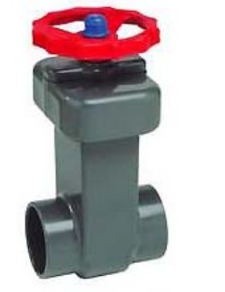 .75IN SKT PVC GATE VALVE SPEARS 2012-007