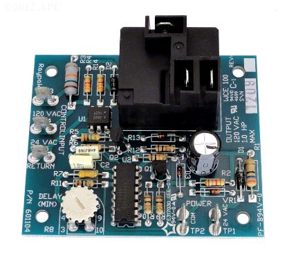 PUMP RELAY PC BOARD 004675F