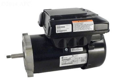1/2 - 1.65 THP 208V 230V VGREEN 165 MOTOR C FLNG POOL SPA  ECM16CU