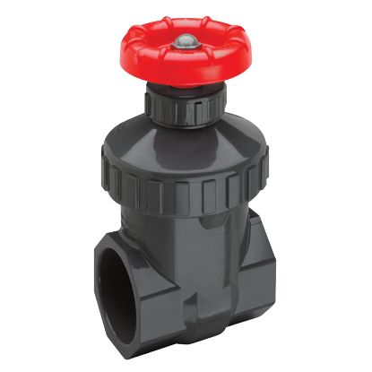 1.5IN FPT PVC GATE VALVE WITH BUNA O-RING SPEARS 2011-015