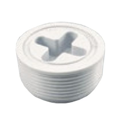 1.5IN JOSAM PLUG WHITE 25523-900-000