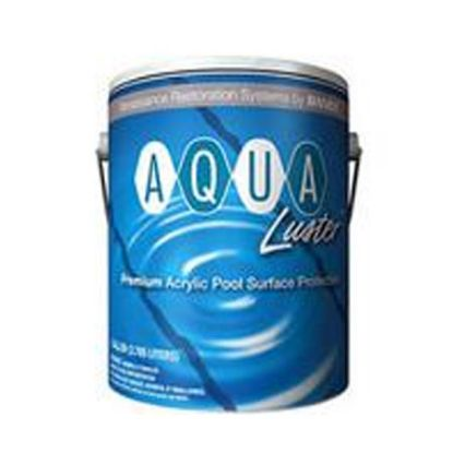 1 GAL AQUALUSTER BRICK RED ACRYLIC POOL COATING RAMUC PAINT 920631501