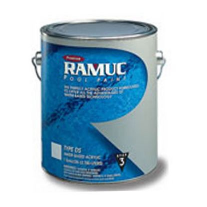 1 GAL DS ACRYLIC PAINT WHITE RAMUC WATER BASED ACRYLIC 910131101