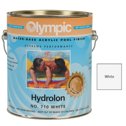 1 GAL HYDROLON ACRYLIC PAINT WHITE OLYMPIC KELLEY 710