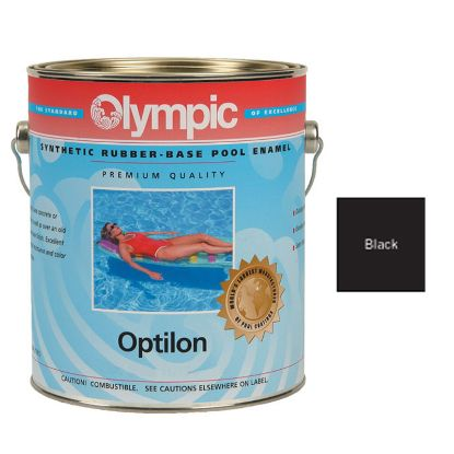 1 GAL OPTILON SYNTHETIC RUBBER BASE BLACK OLYMPIC KELLEY  857 GALLON