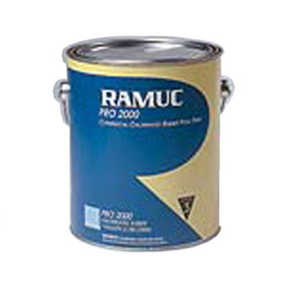 1 GAL PRO 2000 BLACK CHLORINATED RUBBER PAINT RAMUC 920532101