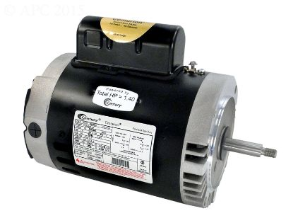 1 HP THRD. SHAFT MOTOR B128