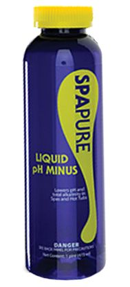 1 PT LIQUID PH MINUS SPA PURE SPA73212P40AEACH