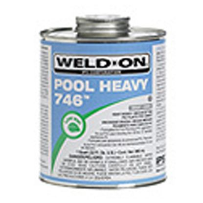 1 QT 746 POOL HEAVY GRAY CEMENT IPS #10145 HEAVY BODY IPS13567EACH