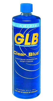 1 QT. CLEAR BLUE CONCENTRATED CLARIFIER GLB GL71404EACH