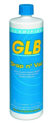 1 QT. DROP N' VAC NON ALUM FLOC CASE OF 12 GLB 71408A