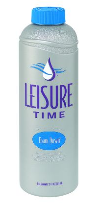 1 QT SPA FOAM DOWN 12/CS LEISURE TIME HQ
