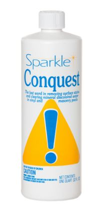 1 QT. SPARKLE CONQUEST CASE OF 18 DEMINERALIZER NUCLO ALDEN  3070