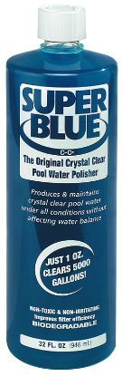1 QT SUPER BLUE WATER CLARIFIER 12/CS ROBARB 20154A
