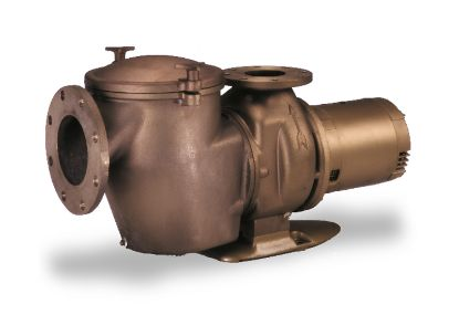 10 HP 200V 208V C PUMP BRONZE COMMERCIAL 3 PH MED HEAD IG  347944