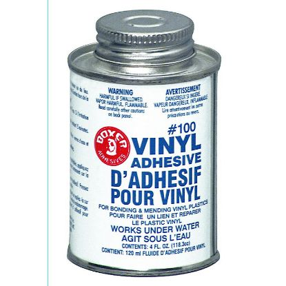 4 OZ VINYL PATCH ADHESIVE CAN BOXER UNION LABS 104