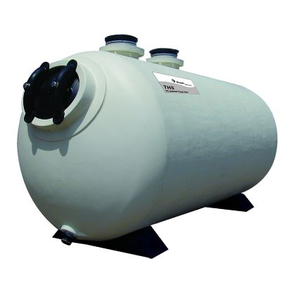13 1/2 SF 34IN X 61IN THS HORIZONTAL SAND FILTER IG COMM W/O 143461