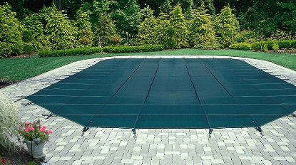 14' x 28' RE ESTATE MESH IG WINTER BLACK 18' x 32' COVER  45-1428RE-ESM-4-BX