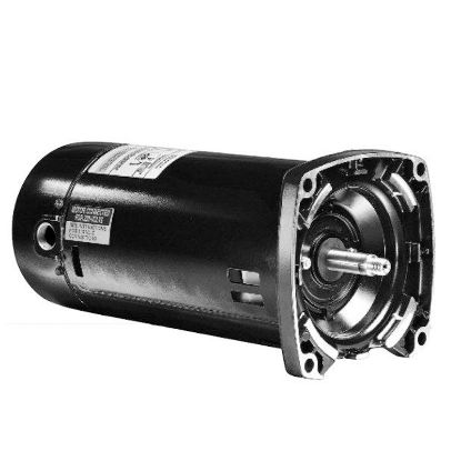 1HP SQUARE FLANGE MOTOR 115/230 VOLT FULL RATED ESQ1102