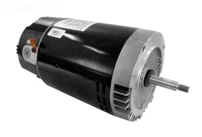 1HP THREADED SHAFT MOTOR 115/230 VOLT UPRATED EB228