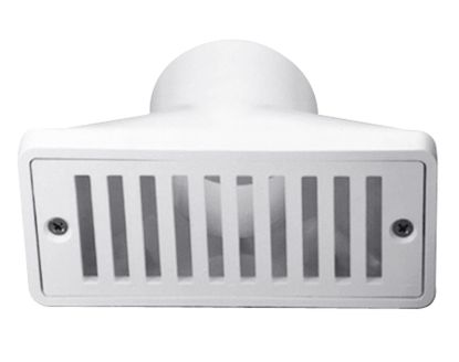 2.5IN X 6IN GUTTER DRAIN AND GRATE WHITE PENTAIR 542039