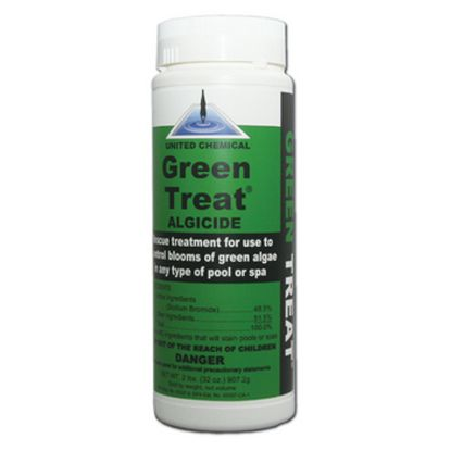 2 LB GREEN TREAT ALGAECIDE 12/CS UNITED CHEMICAL GT-C12