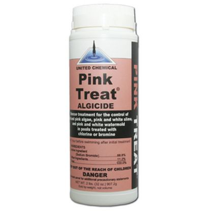 2 LB PINK TREAT ALGAECIDE 12/CS UNITED CHEMICAL PT-C12
