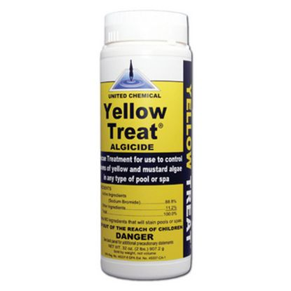 2 LB YELLOW TREAT ALGAECIDE 12/CS UNITED CHEMICAL YT-C12