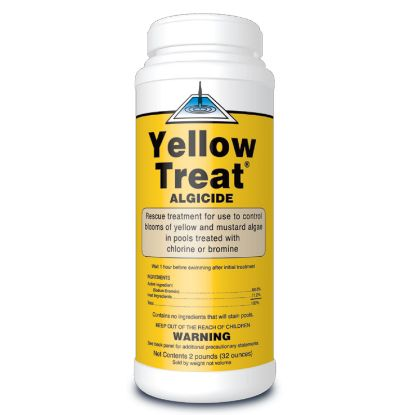 2 LB YELLOW TREAT ALGAECIDE EACH UNITED CHEMICAL YTC12EACH