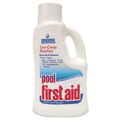 2 LTR POOL FIRST AID 6/CS NATURAL CHEMISTRY 3122