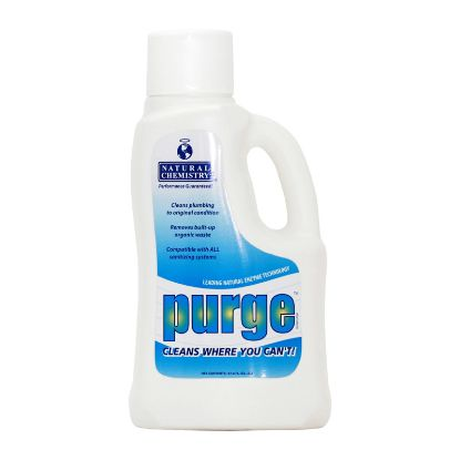 2 LTR PURGE PIPE CLEANER 6/CS FOR POOLS AND SPAS NATURAL  3125