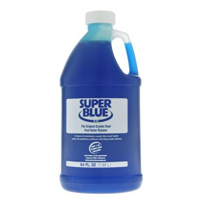 1/2 GAL SUPER BLUE WATER CLARIFIER CASE OF 6/CS ROBARB 20155A