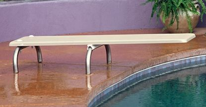 24IN U STANDARD DIVING BOARD BASE PASSIVE .049IN THICK EARTH DBU24049-3