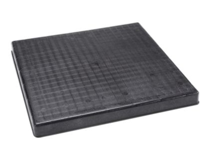 24IN X 24IN X 2IN FILTER BASE THE BLACK PAD MOLDED PLASTIC  ACP24242