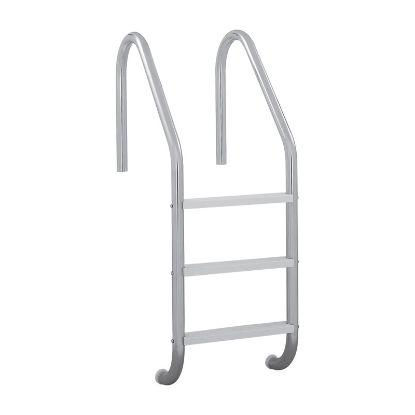 3 STEP 24IN RESIDENTIAL IG LADDER .049IN TUBE PLASTIC STEP  RLF-24E-3B