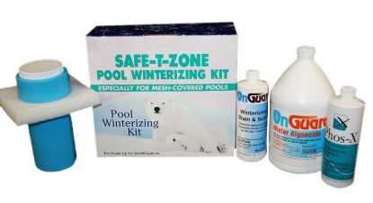 30K GAL. SAFETY ZONE WINTER KIT MESH ONLY CASE OF 2 JONAS  K2608301