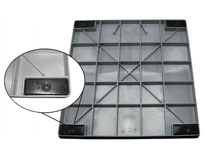 36IN X 48IN X 2IN FILTER BASE DURAGRID MOLDED PLASTIC CARSON 92110017