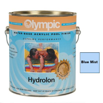 5 GAL HYDROLON ACRYLIC PAINT BLUE MIST OLYMPIC KELLEY 711 5 GALLON