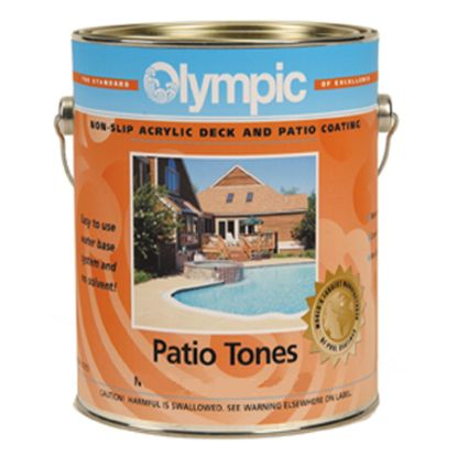5 GAL PATIO TONE CREEKSTONE DECK COATING OLYMPIC KELLEY 466W 5 GALLON