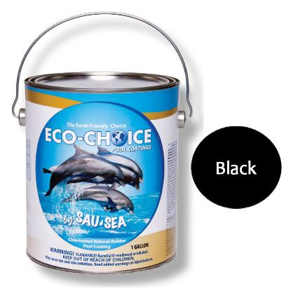 5GAL ECOCHOICE PREM GLOS BLACK SAUSEA HIGH GLOSS RUBBER 5ECPRBK