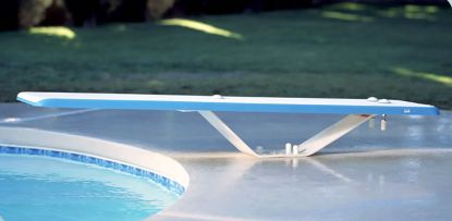 6' DURO SPRING DIVING BOARD ONLY WHITE DS6WW
