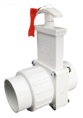 1.5IN SKT X UNION SKT GATE VALVE PVC WHITE VALTERRA 6114X