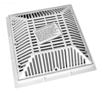 WATERWAY 9X9 FRAME & GRATE 640-4790V