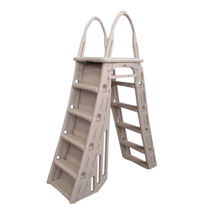 EXTRA HEAVY DUTY A-FRAME LADDER WITH ROLL GUARD 7200