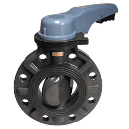 8IN LEVER POOL PRO BUTTERFLY VALVE ASAHI 1728085