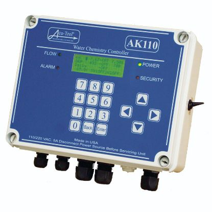 ACUTROL AK110 AUTO CHEMICAL CONTROLLER MONITORS PH ORP FLOW  701000110
