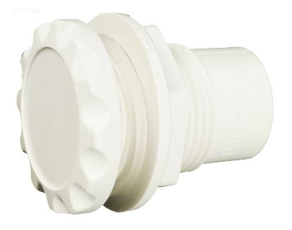 AIR CONTROL 1/2IN SUPER DELUXE INAIN STYLE SCALLOPED WHITE  660-3100