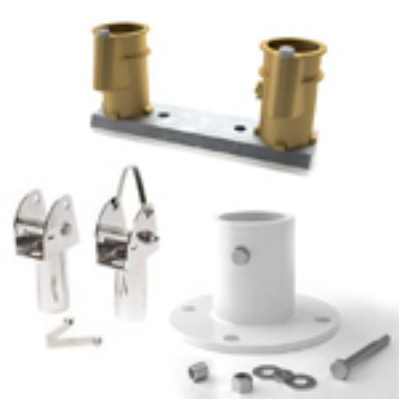 Picture for category Anchor Sockets, Deck Flanges & Escutcheons