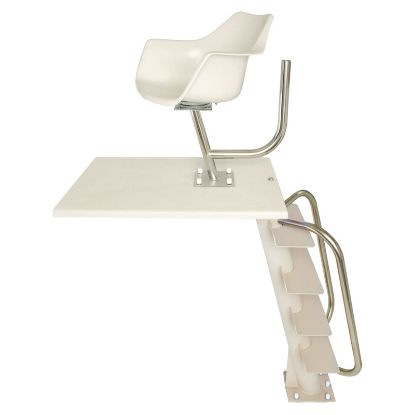 CANTILEVER LIFEGUARD CHAIR WITH COLUMN CAT-LG-101A